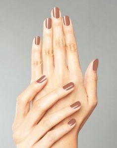 Mocha Brown Nail polish