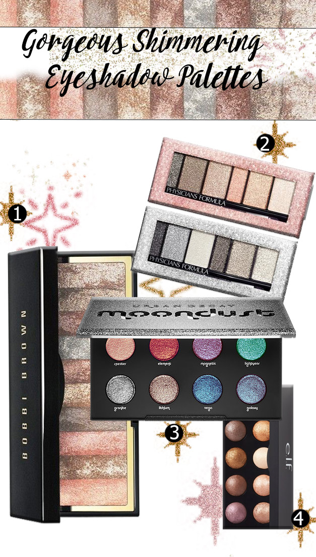 Shimmering eyeshadows - Shimmering Eyeshadow - Not Your Typical Smokey Eyes