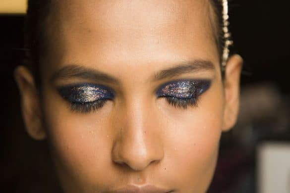 beauty 2013 02 thakoon fall 2013 backstage beauty 2 main 585x390 - Everything You Need To Know About Glitter Makeup