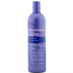 clairol shimmer lights shampoo 16oz 300x300 - The Best Purple Shampoos to Keep Yellow Out of Blonde Hair