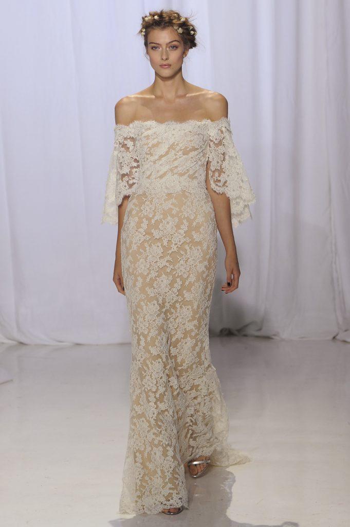 Reem Acra brd F17 025 681x1024 - 15 Most Gorgeous Wedding Dresses From NY Bridal Fashion Week Fall 2017