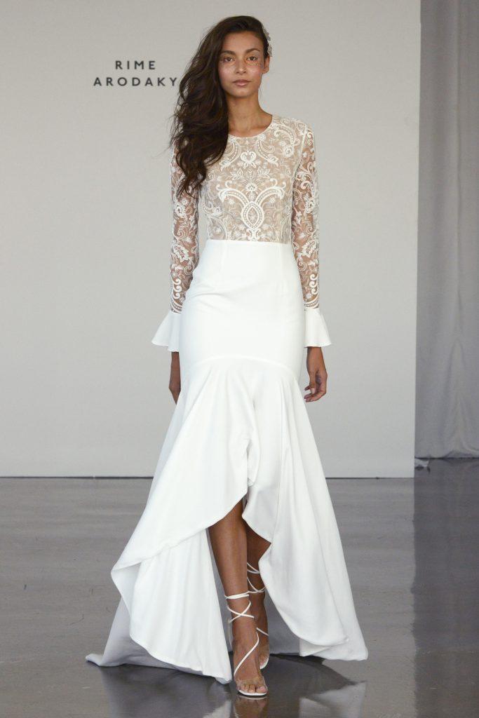 Rime Arodaky brd F17 007 683x1024 - 15 Most Gorgeous Wedding Dresses From NY Bridal Fashion Week Fall 2017