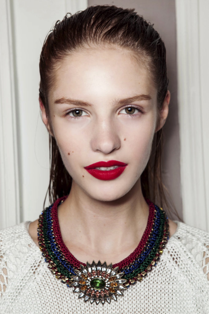Barbara Bui bbt S13 006 682x1024 - Find the Perfect Red Lipstick to Flatter Your Complexion