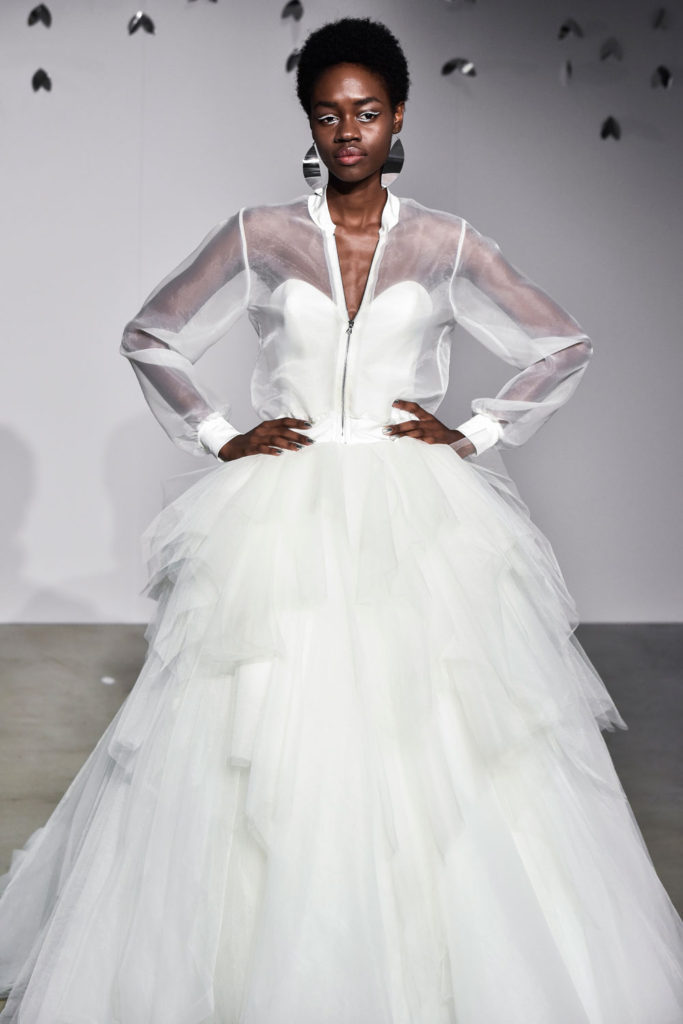 Justin Alexander brd F18 032 683x1024 - 9 Must-See Fall 2018 Wedding Dress Trends