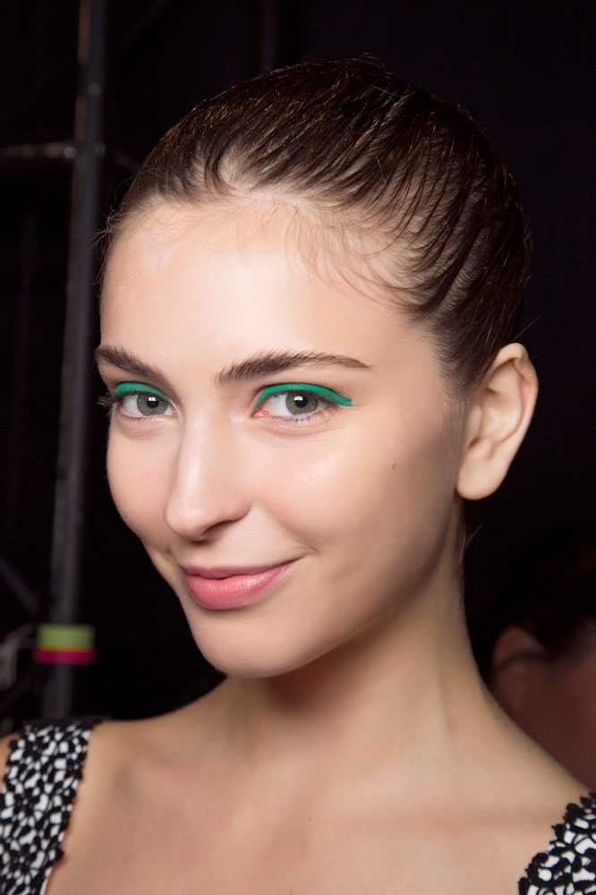 Lhuillier bbt S16 010 - 10 St. Patrick's Day Makeup Looks That Aren't Cheesy