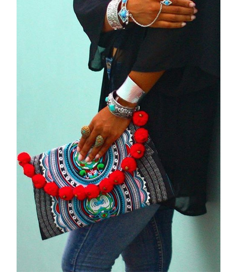ethnic chic amaya clutch perfect for summer look - The Ultimate Summer Checklist 2019