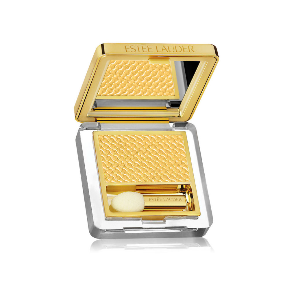 este lauder pure color gele powder eyeshadow cyber gold 1024x1024 - Gold Makeup: Beauty In Carats