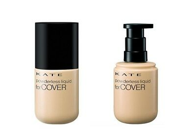 Kanebo Kate Powderless Liquid Cover Foundation SPF20 PA - Everything You Need to Know About J-Beauty