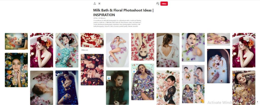 moodboard 1024x414 - Grow your reputation as a Makeup Artist. Hottest Tip #1