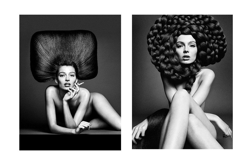 Harpers Bazaar Belleza Estructuras Sublimes with Carola Remer - Interview with the Legendary Hair Artist Nicolas Jurnjack