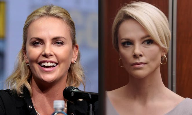 Charlize in Bombshell - The Magic of Movie Makeup - 50 Makeup Transformations