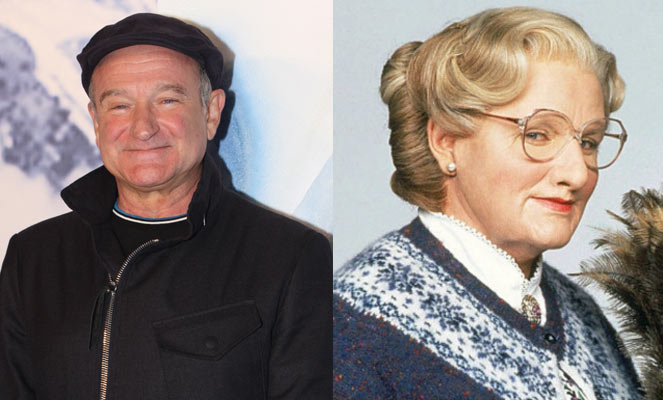 RobinDoubtfire - The Magic of Movie Makeup - 50 Makeup Transformations