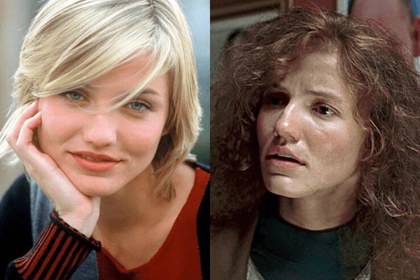 Cameron Diaz - The Magic of Movie Makeup - 50 Makeup Transformations