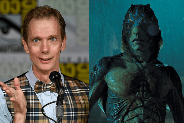 Doug Jones in The Shape of Water - The Magic of Movie Makeup - 50 Makeup Transformations