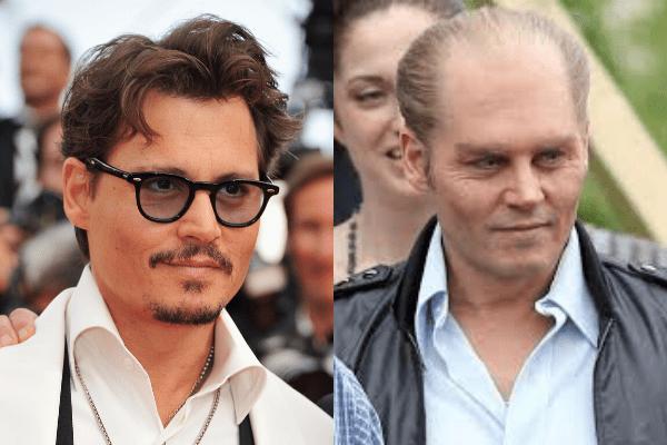 Johnny Depp - 50 Makeup Transformations