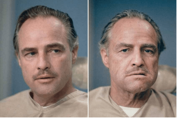 Marlon Brando - 50 Makeup Transformations