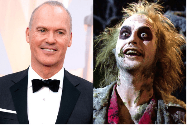 Michael Keaton - The Magic of Movie Makeup - 50 Makeup Transformations