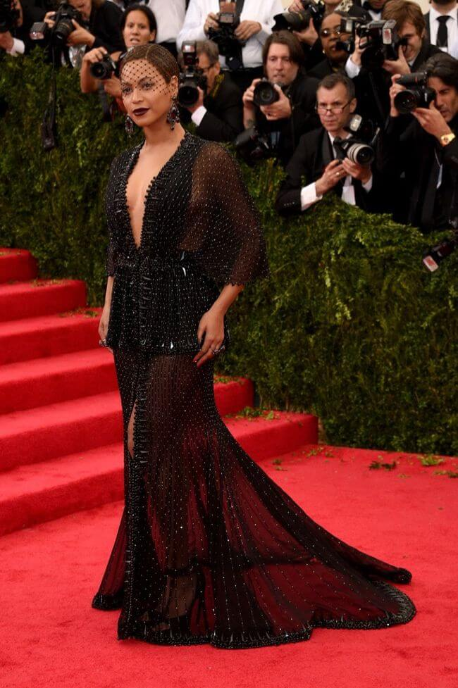 2014 Beyoncé in Givenchy - Our Favorite Met Gala Looks in the Last Decade
