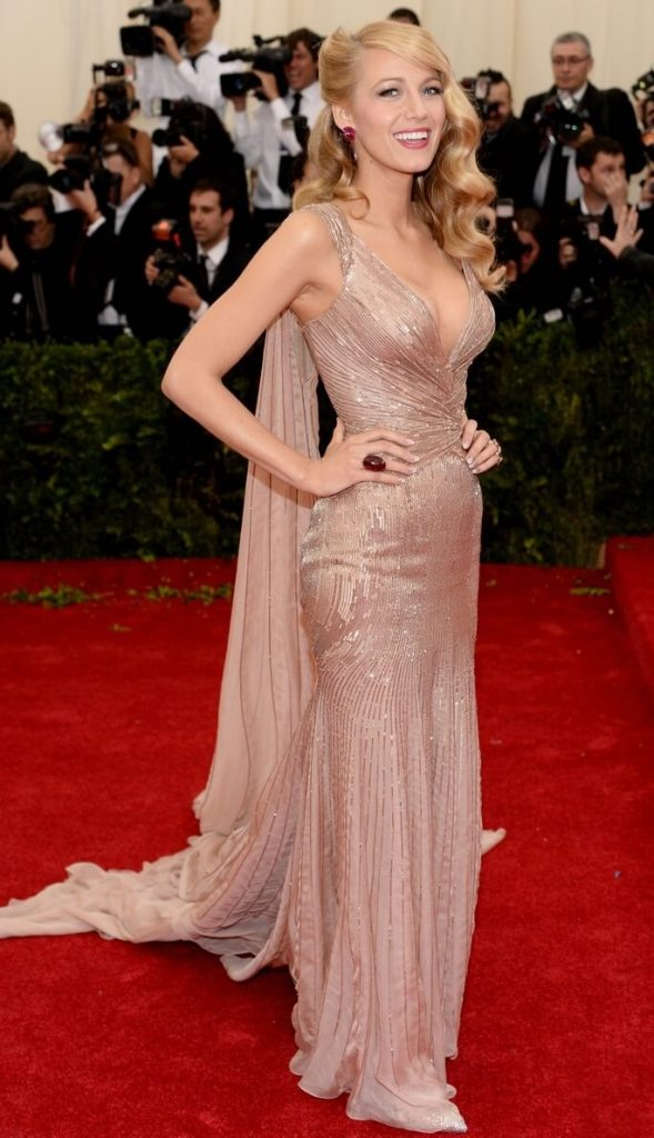 2014 blake lively 589x1024 - Our Favorite Met Gala Looks in the Last Decade