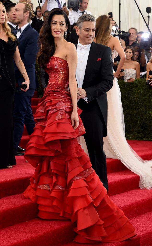 Amal Clooney Maison Margiela 2015 - Our Favorite Met Gala Looks in the Last Decade