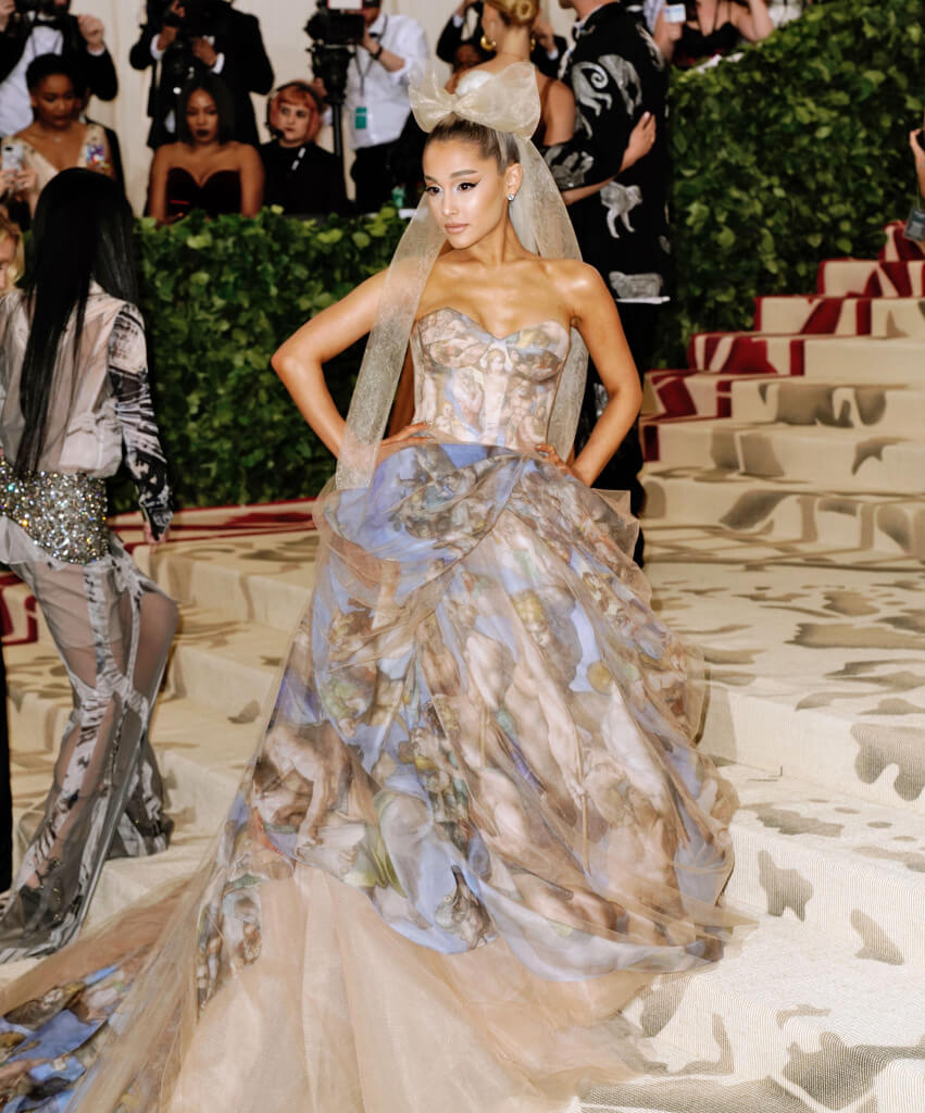 Ariana Grande in Vera Wang 2018 - Our Favorite Met Gala Looks in the Last Decade