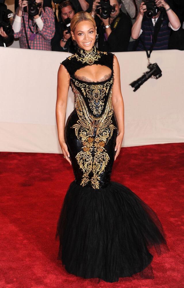 Beyonce 2011 - Our Favorite Met Gala Looks in the Last Decade