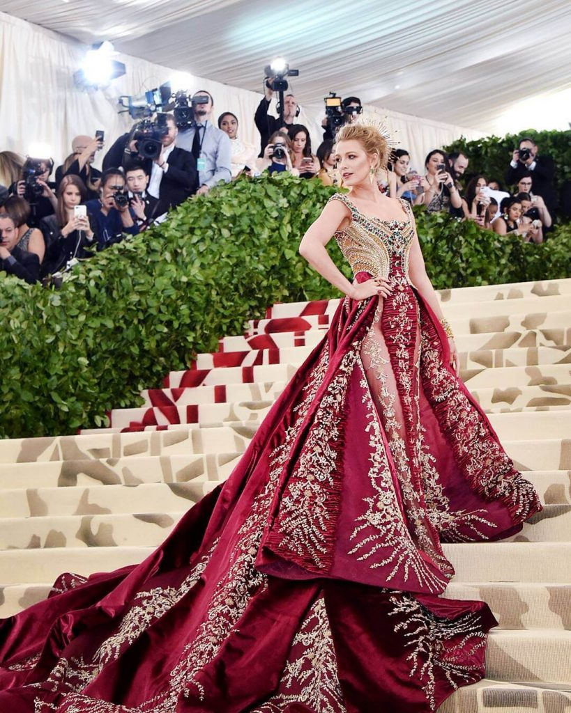 Blake Lively in Atelier Versace 819x1024 - Our Favorite Met Gala Looks in the Last Decade