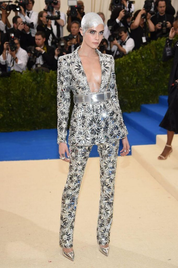 Cara Delevingne in Chanel 2017 681x1024 - Our Favorite Met Gala Looks in the Last Decade