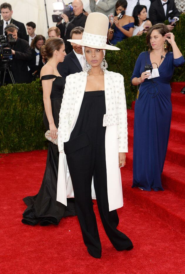 Erykah Badu in Givenchy 2014 1 - Our Favorite Met Gala Looks in the Last Decade
