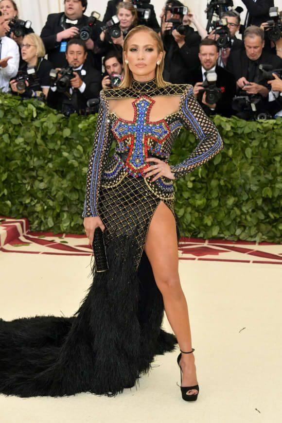 Jennifer Lopez in Balmain - Our Favorite Met Gala Looks in the Last Decade