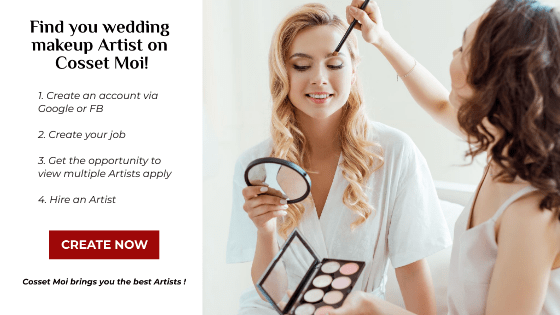 CM Ad - Pick the Perfect Makeup Artist for Your Wedding Day