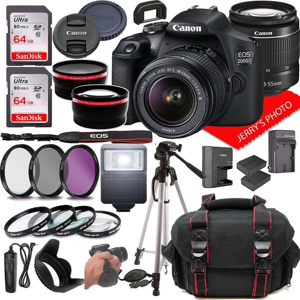 Canon EOS 2000D 1024x1024 - What is the best camera for a budding photographer - parameters and devices