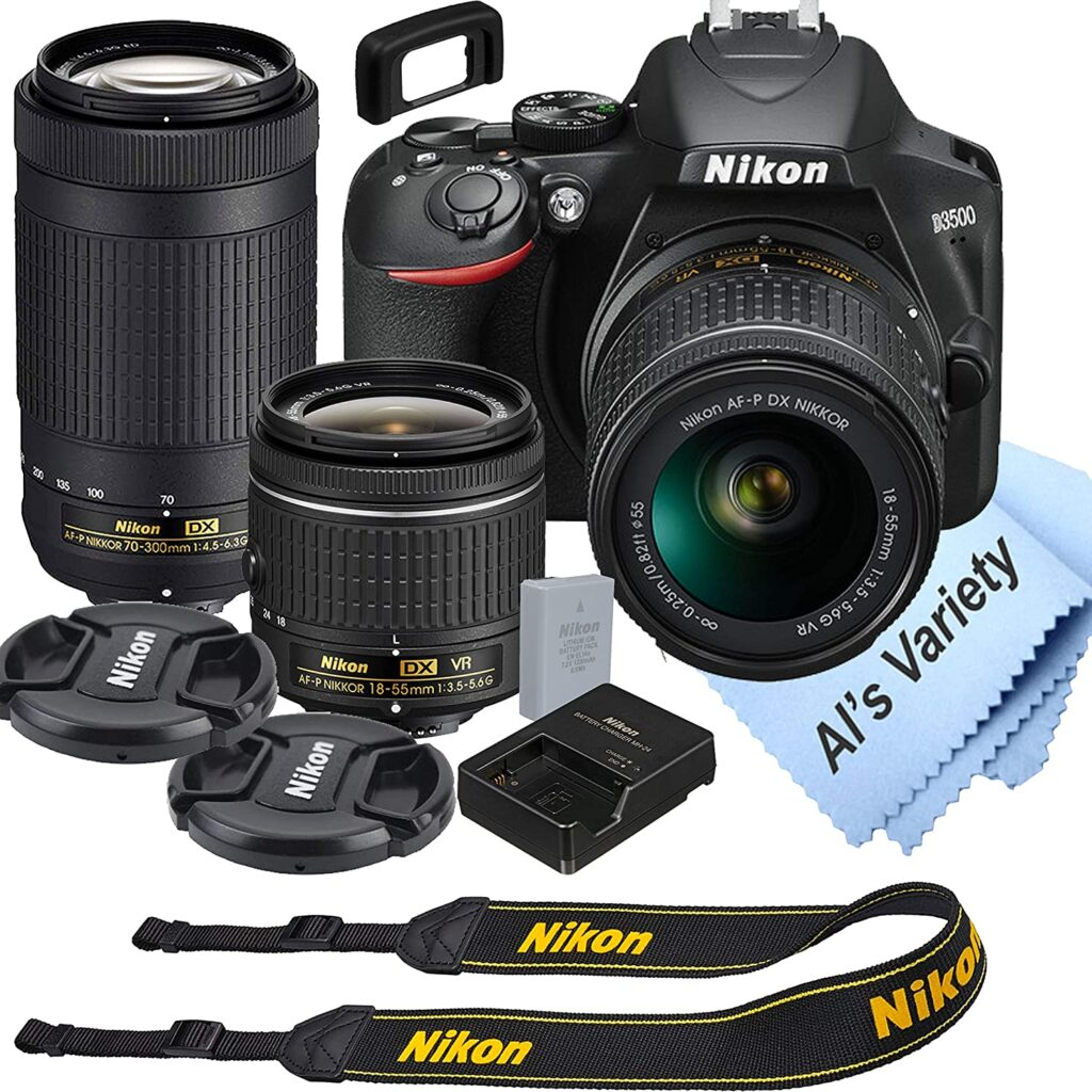 Nikon D3500  1024x1024 - What is the best camera for a budding photographer - parameters and devices