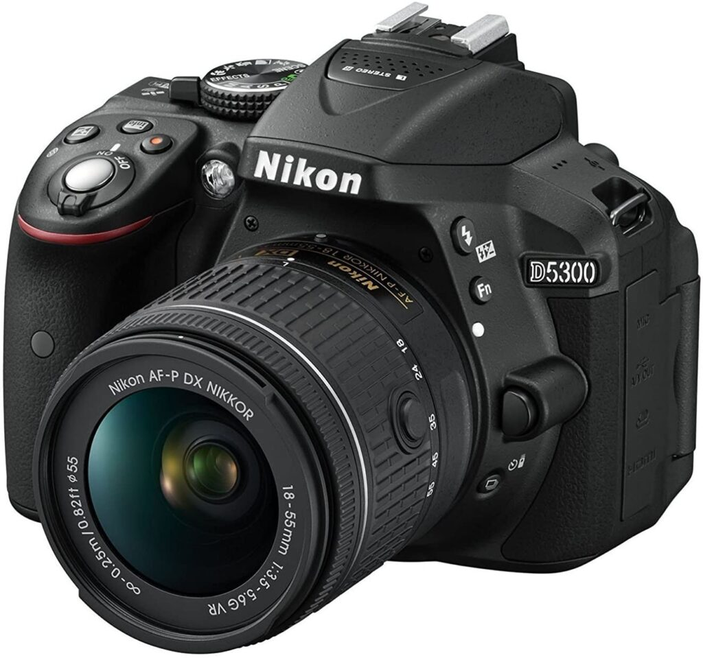 Nikon D5300  1024x959 - What is the best camera for a budding photographer - parameters and devices