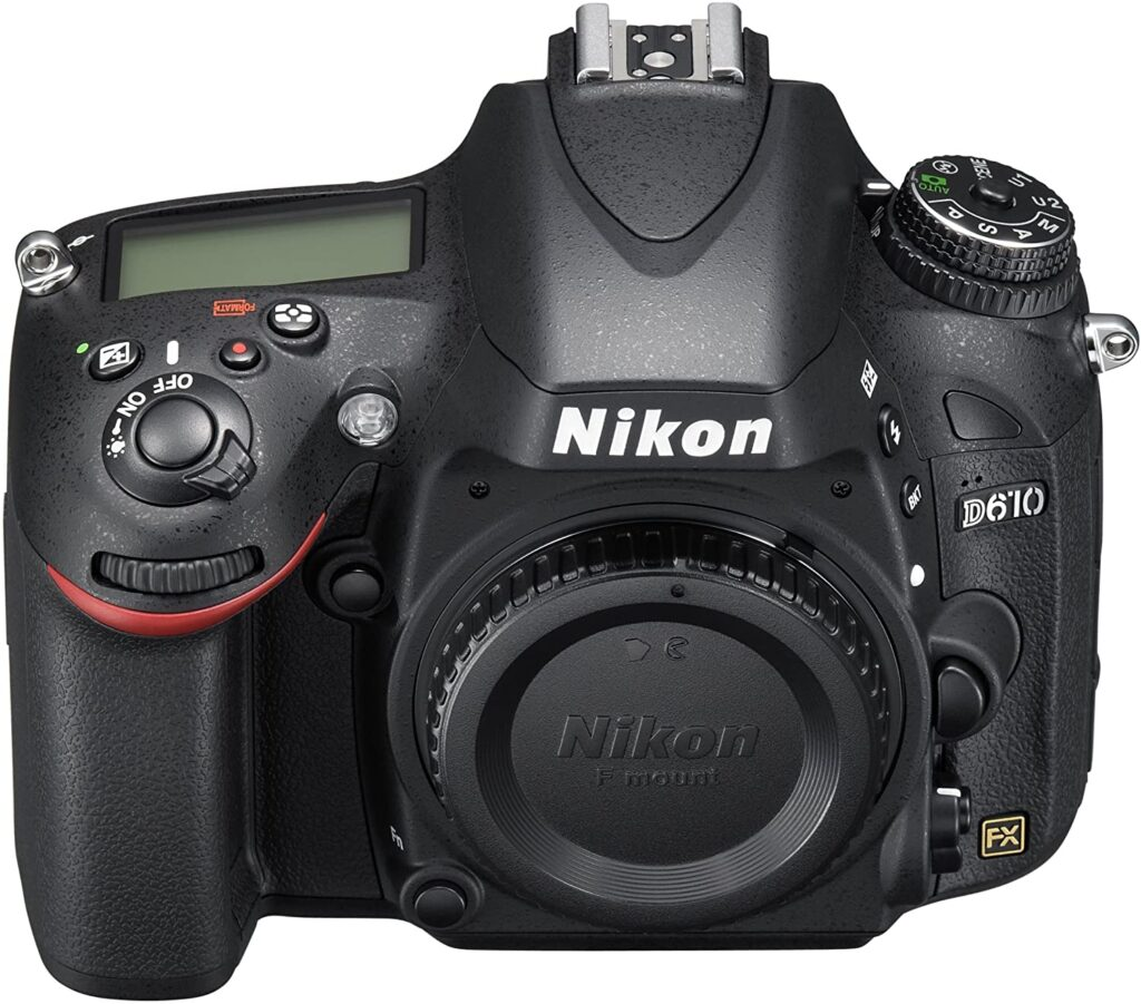 Nikon D610 1024x901 - What is the best camera for a budding photographer - parameters and devices