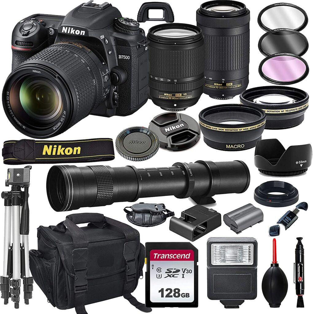 Nikon D7500 1020x1024 - What is the best camera for a budding photographer - parameters and devices
