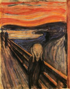 the scream 238x300 1 - Is there a Link between Creativity and Depression?