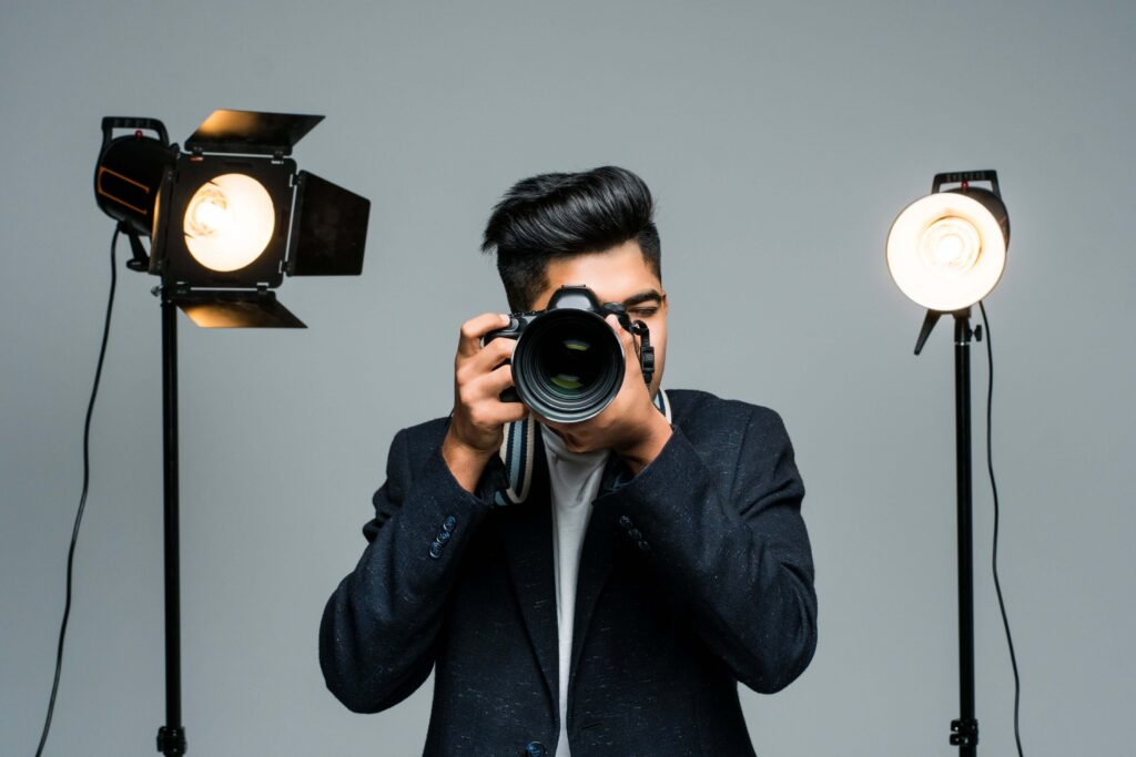 professional indian young photographer taking photos studio with leight min 1024x683 - 7 high-paying jobs in the beauty industry and how to find them